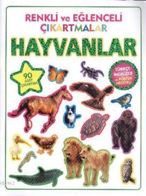 Renkli ve Eğlenceli Çıkartmalar - Hayvanlar