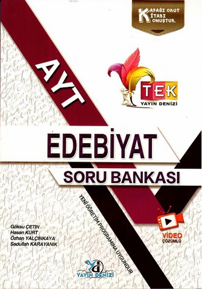 Yks Ayt Tek Vd.Çöz. S.B. Edebiyat - 2019-20