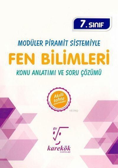 Karekök Yayınları 7. Sınıf Fen Bilimleri MPS Konu Anlatımı ve Soru Çözümü Karekök