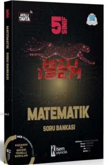 İsem 2021 5.Sınıf Hızlı İsem Matematik Soru Bankası İsem Yayıncılık