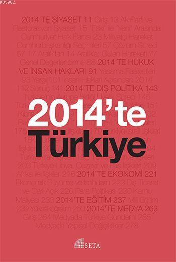 2014'te Türkiye; Seta Yıllığı