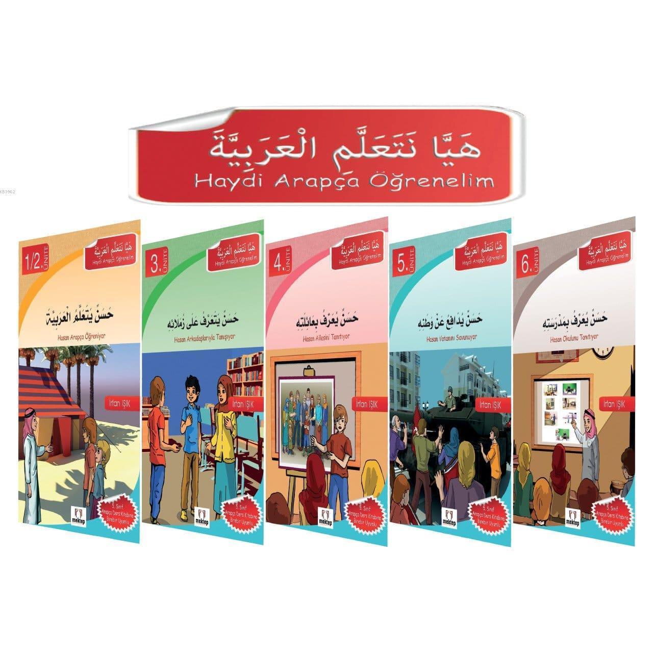 Haydi Arapça Öğrenelim - Hikaye Seti