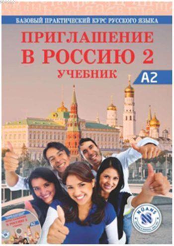 Priglasheniyev Rossiyu 2 Uchebnik + CDA2; Rusça Ders Kitabı