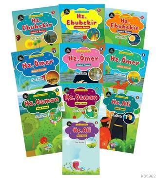Çocuklar İçin Hikâyelerle Dört Halife Hayatı 10 Kitap Set