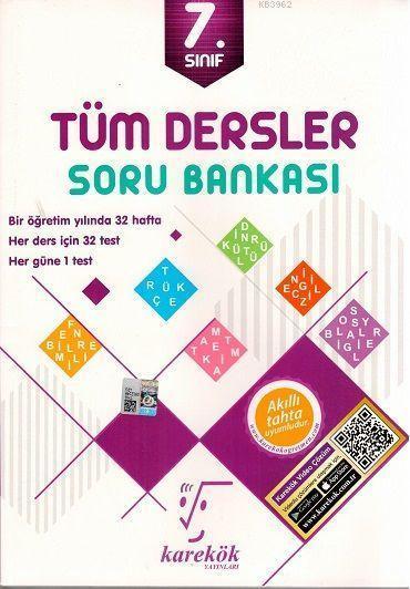 Karekök Yayınları 7. Sınıf Tüm Dersler Soru Bankası