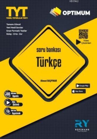 Referans Optimum TYT Türkçe Soru Bankası Video Çözümlü 2021
