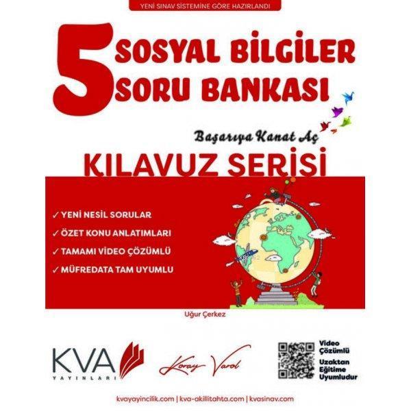 KVA Kılavuz Serisi 5.Sınıf Sosyal Bilgiler Soru Bankası