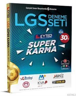 Eyted Yayınları 8. Sınıf LGS Süper Karma 6 lı Deneme Seti Eyted