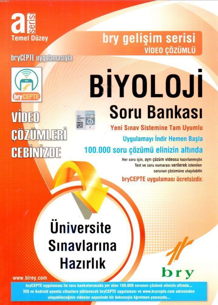 Biyoloji Soru Bankası (A Serisi) Temel Düzey Gelişim Serisi