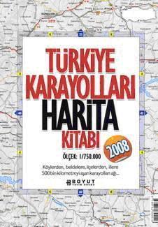 Türkiye Karayolları Harita Kitabı 2008