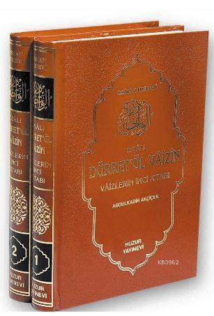 Dualı Dürret'ül Vaizin (2 Kitap Takım)
