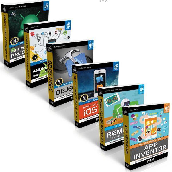 Mobil Uygulama Geliştirme Seti (6 Kitap)