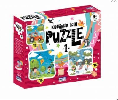 Küçükler İçin Puzzle - 1 (Kutulu)