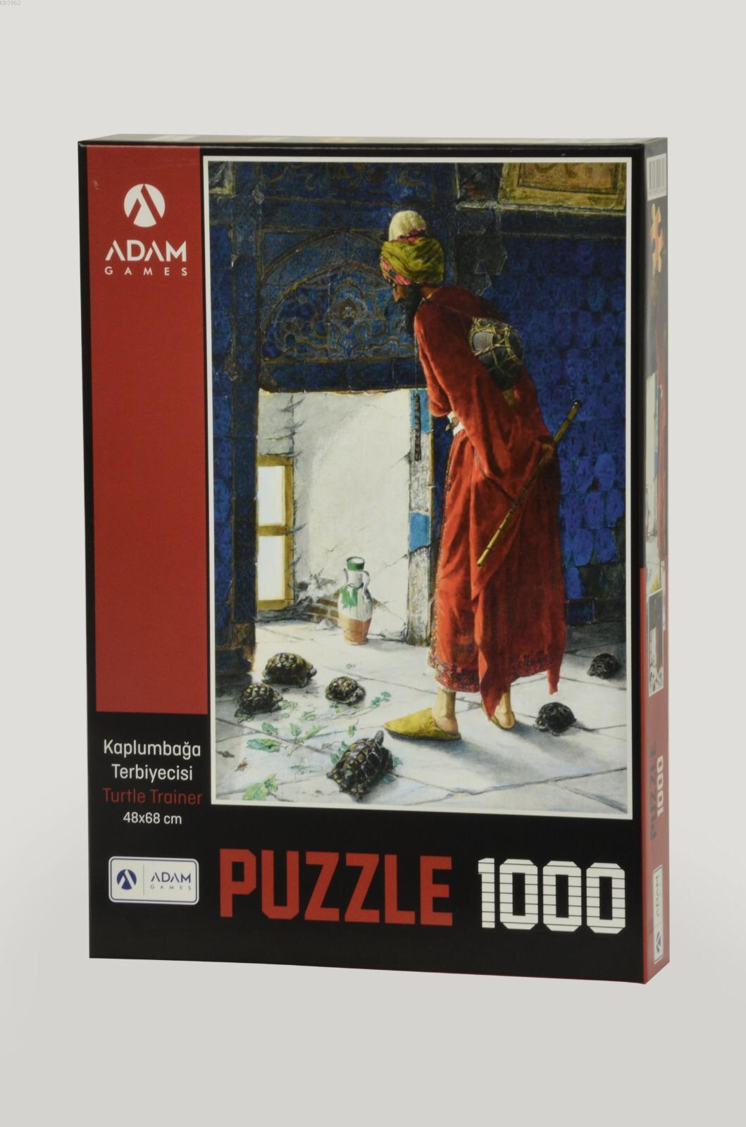 Adam Games Kaplumbağa Terbiyecisi 1000 Parça Puzzle 48x68