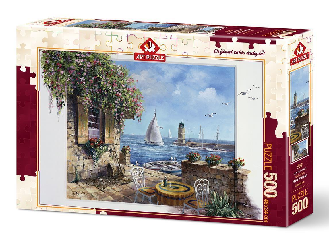 Art Puzzle 4172 Seni Beklerken 500 Parça
