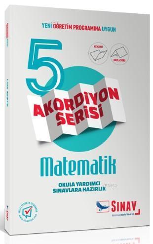 Sınav Dergisi Yayınları 5. Sınıf Matematik Akordiyon Serisi Aç Konu Katla Soru Sınav Dergisi