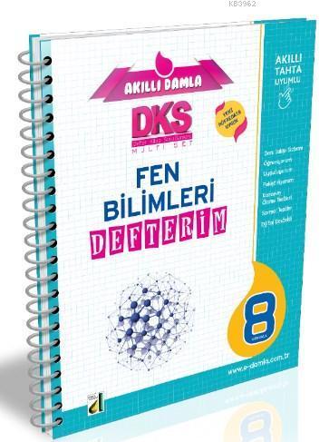 DKS 4B T.C. Fen Bilimleri Defterim - 8. Sınıf
