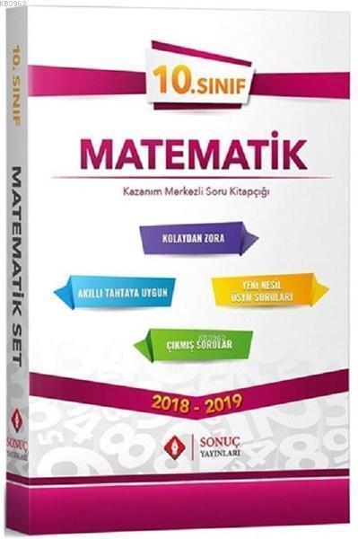 10. Sınıf Matematik Kazanım Merkezli Soru Bankası Seti