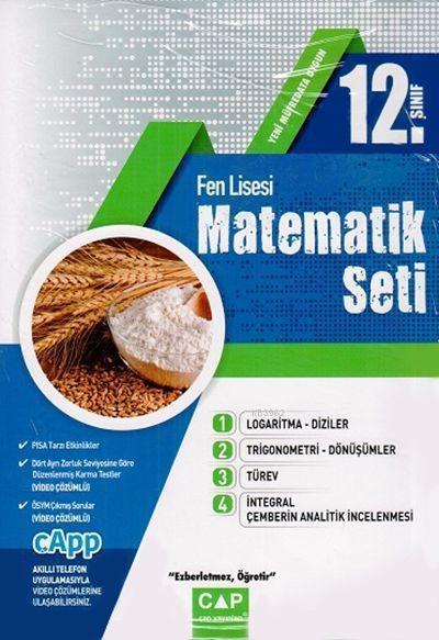 Çap Yayınları 12. Sınıf Fen Lisesi Matematik Seti Çap
