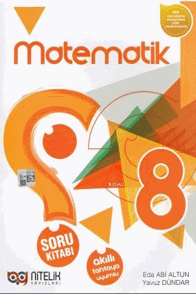 Nitelik Yayınları 8. Sınıf Matematik Soru Kitabı Nitelik
