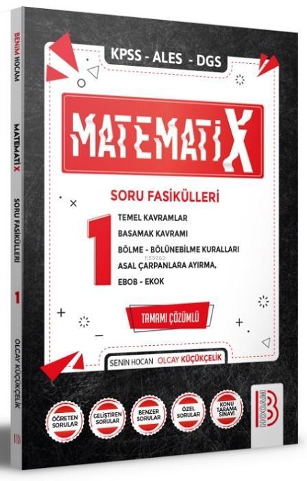 2021 KPSS ALES DGS MatematiX Soru Fasikülleri 1 Benim Hocam Yayınları