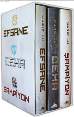 Efsane Serisi Seti (Ciltli) - 3 Kitap Takım