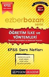 KPSS Ezberbozan Eğitim Bilimleri Öğretim İlke ve Yöntemleri 2016; Öğretim Teknolojileri ve Materyal Tasarımı Ders Notları