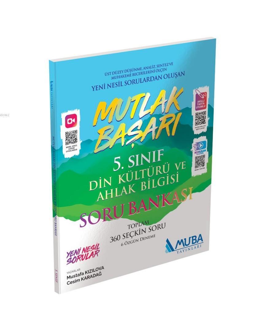 Muba Yayınları 5. Sınıf Din Kültürü ve Ahlak Bilgisi Mutlak Başarı Soru Bankası Muba