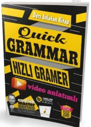 Quick Grammar Video Anlatımlı