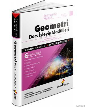 Aydın Yayınları TYT AYT Geometri Ders İşleyiş Modülleri Aydın