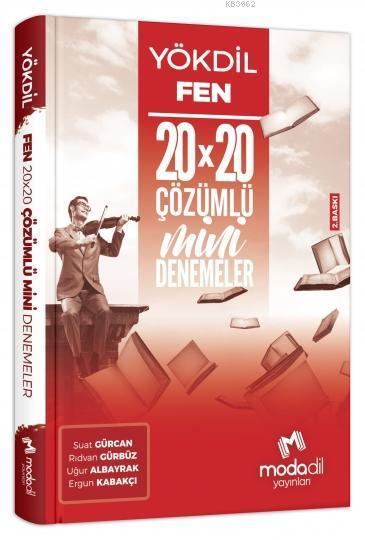 Yökdil Fen Bilimleri 20*20 Mini Denemeler Modadil Yayınları