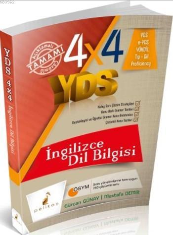4x4 YDS Seti İngilizce Dilbilgisi