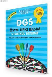 DGS Ösym Tıpkı Basım 5 Fasikül Deneme