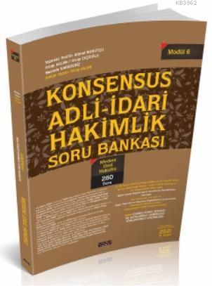 Konsensus Adli İdari Hakimlik Medeni Usul Hukuku Soru Bankası