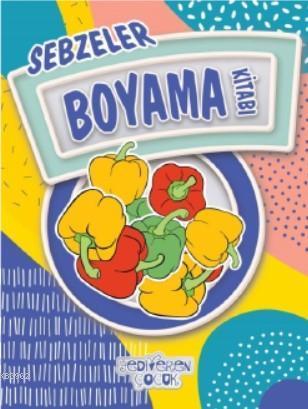 Sebzeler Boyama Kitabı