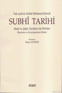 Subhı Tarihi (cd'li)