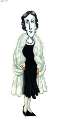 Virginia Woolf Karikatür Ayraç