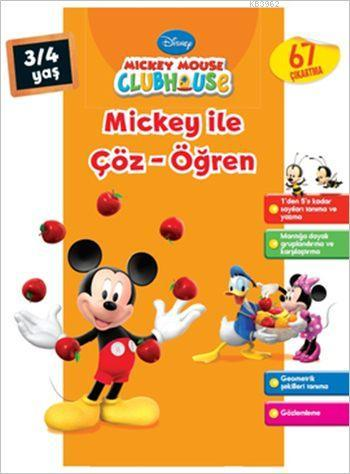 Mickey ile Çöz Öğren (3-4 Yaş)