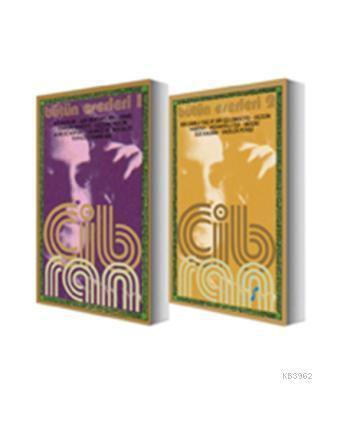 Halil Cibran Bütün Eserleri Cilt 1-2 Takım; Asi Ruhlar - Aşk Mektupları - Ermiş - Ermişin Bahçesi - Gezgin - Kaçık - Kum ve Köpük