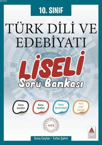 10. Sınıf Türk Dili ve Edebiyatı Liseli Soru Bankası