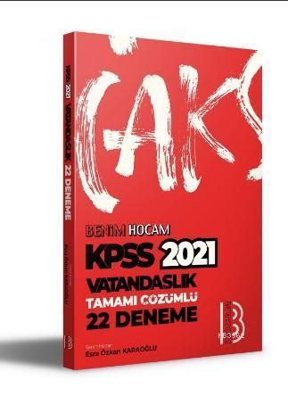 2021 KPSS Vatandaşlık Tamamı Çözümlü 22 Deneme