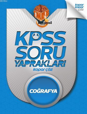 2014 KPSS Coğrafya Soru Yaprakları - Kopar Çöz