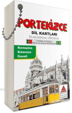 Delta Kültür Yayınları Portekizce Dil Kartları Delta Kültür