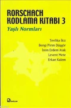 Rorschach Kodlama Kitabı 3; Yaşlı Normları