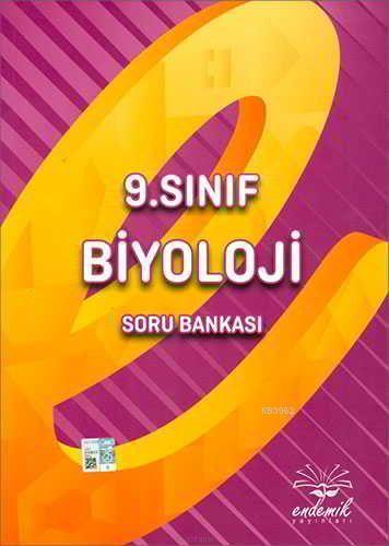 Endemik Yayınları 9. Sınıf Biyoloji Soru Bankası Endemik