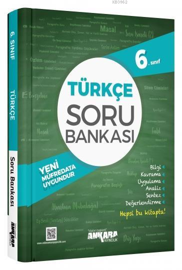 Ankara Yayınları 6. Sınıf Türkçe Soru Bankası Ankara
