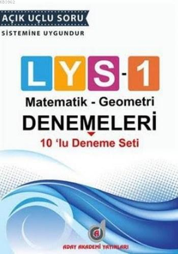 LYS 1 - 10'lu Deneme Seti; (Matematik-Geometri)