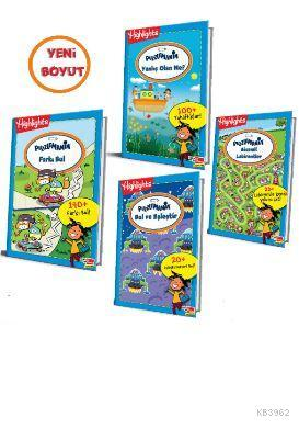 Highlights Puzzlemania (On The Go Serisi) 4 lü Set