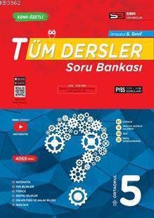 Ortaokul 5. Sınıf Tüm Dersler Soru Bankası Soru Bankası