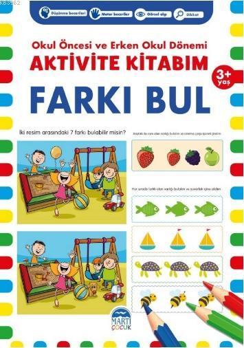 Aktivite Kitabım - Farku Bul (3 + Yaş )